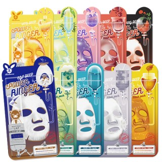 Тканевые маски для лица от Elizavecca Deep Power Ringer Mask