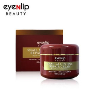 Крем для лица с муцином улитки Eyenlip Snail All In One Repair Cream