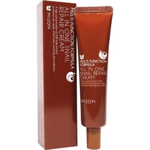 Крем для лица с муцином улитки Mizon All In One Snail Repair Cream